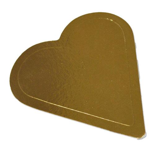 088aa00e3ff3 Formatos Oro Corazón para Tartas de San Valentín - Hermanos Galiano
