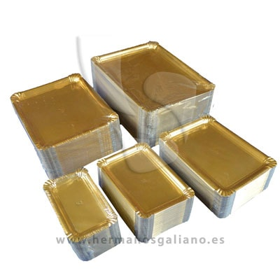 698cced7ab6b Oferta 4 Cajas Bandejas Oro para Pastelería. 5% de Descuento (4 Cajas  Bandejas Oro para Pastelería)
